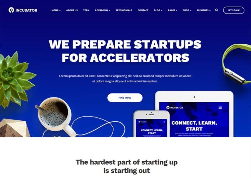 20 Best Startup Website Templates (HTML & WordPress) 2020 - Colorlib
