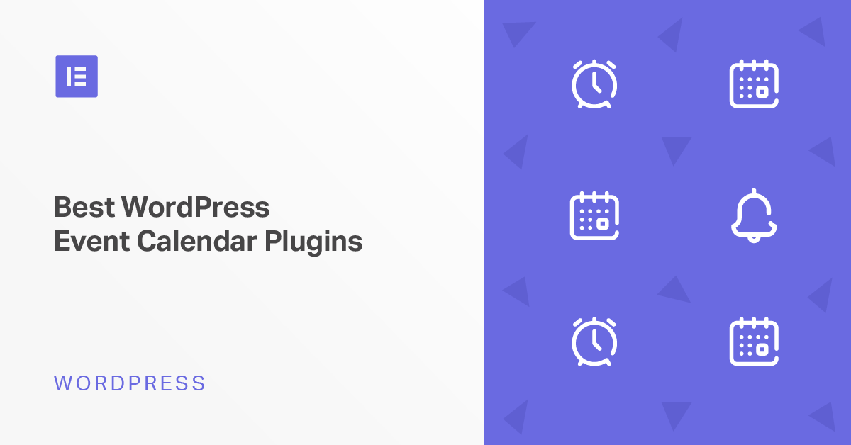 6 Best WordPress Event Calendar Plugins for Elementor Users (and Everyone Else) - Elementor