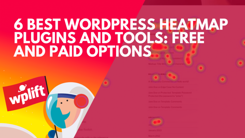 6 Best WordPress Heatmap Plugins and Tools: Free and Paid Options