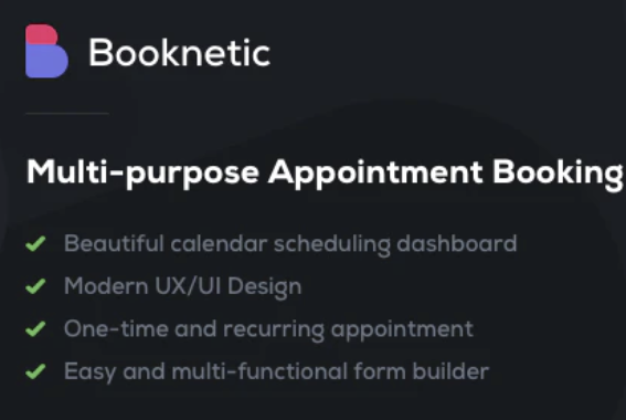 Booknetic Review: A Polished WordPress Appointment Booking Plugin