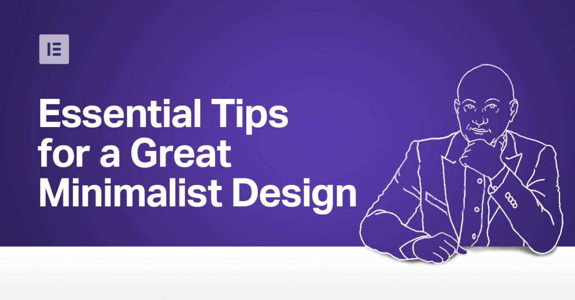 Monday Masterclass: Essential Tips for Great Minimalist Web Design - Elementor