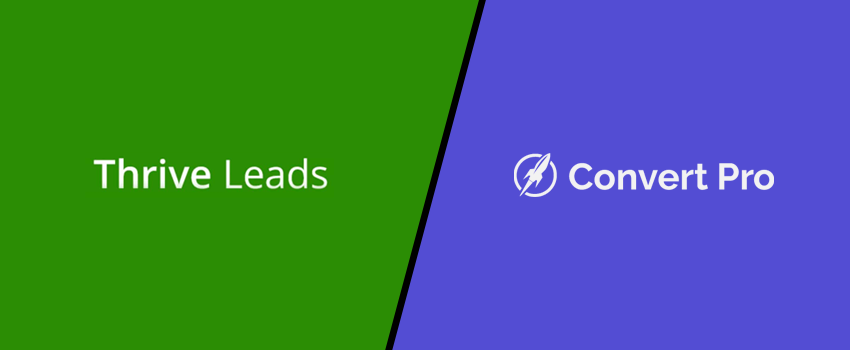 Thrive Leads vs Convert Pro Comparison: Is It the Best Thrive Leads Alternative? (2021)